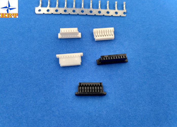 single row housing wire to board connector 1.00mm pitch 04 to 10 Pin with lock for Laptop